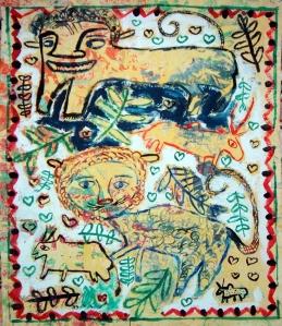 ילדים. אמנים של החיים. בעקבות ציורי ילדים מאתיופיה.