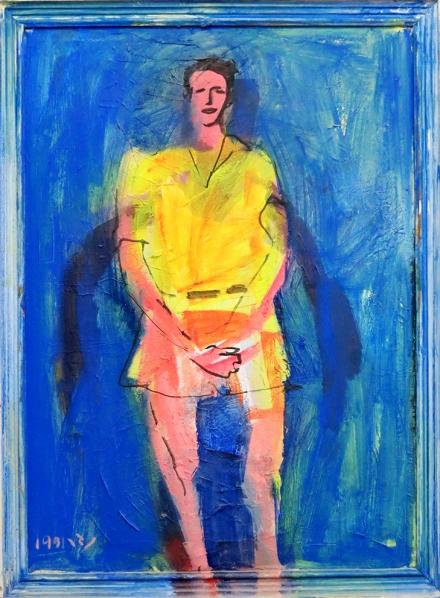יורם נדר, ציור שמן על בד, 1991a
