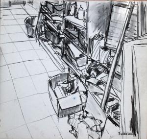 בסטודיו הישן