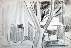 עיפרון על נייר