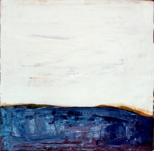 דיונה, אקריל ופיגמנט על בד מעובד, 150x150