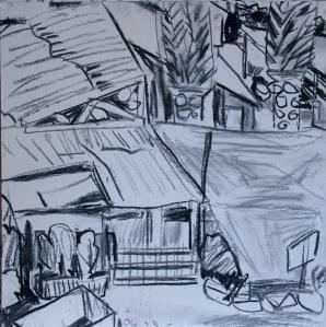 לעת ערב נהגתי לעלות להר  וממרומיו לרשום את הכפר הנחמד.