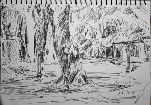 חניון הקראוונים בקוררונג, 25.10.13