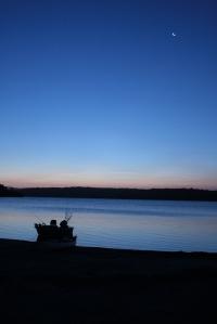 שוב אגם וולאגה. חשבנו להשאר כאן ארבעה ימים ועוד מעט נסגר כאן השבוע השני..