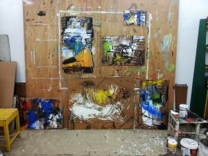 עבודות בסטודיו