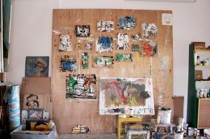 רישומי צבע נעניים עם עבודה נהדרת של גלעד ותמרה בני שמונה ושש.